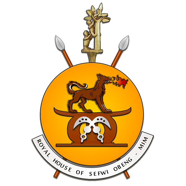Arms & Orders of the Royal House of Sefwi Obeng-Mim